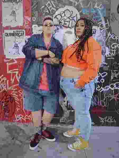Issa Paz e Sara Donato formam a dupla Rap Plus Size - Divulgação Rap Plus size