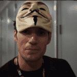 Henry Cavill colocou uma máscara de Guy Fawkes para circular pela San Diego Comic-Con em 2016 - Reprodução/Instagram