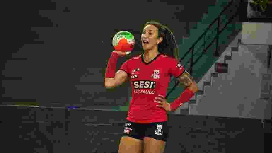 Tifanny Abreu (MDB/SP) também se candidata pela primeira vez e tem em seu programa a inclusão no esporte. - Agência Look, fotógrafo Marcos Takeshi