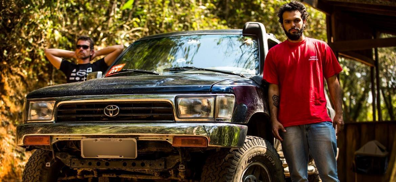 Toyota Hilux SW4 de Helio Vieira - Reprodução/Helio Vieira