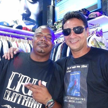 MC Naldinho (à esquerda) com Bob Rum - Reprodução/Instagram