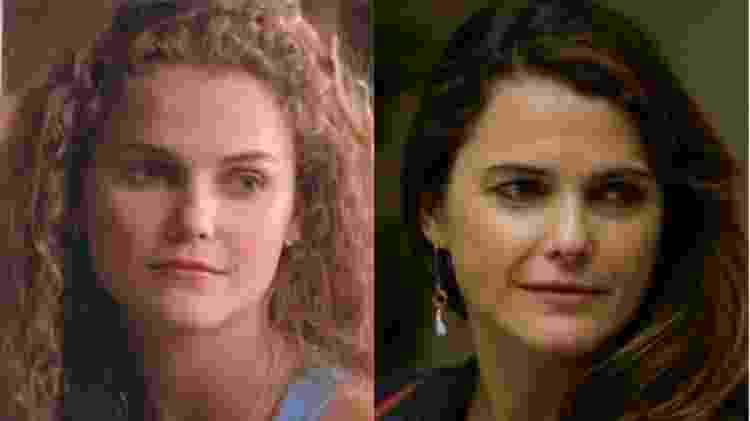 Felicity Antes e Depois - Keri Russell - Reprodução - Reprodução
