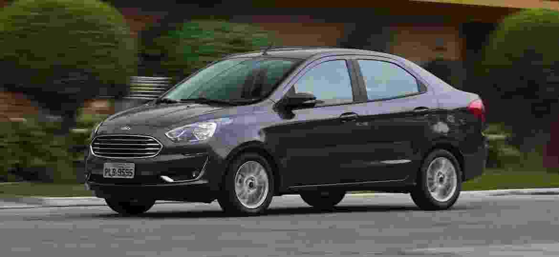 Ka Sedan Titanium agora só vem com quatro airbags -- e ainda custa mais caro - Murilo Góes/UOL