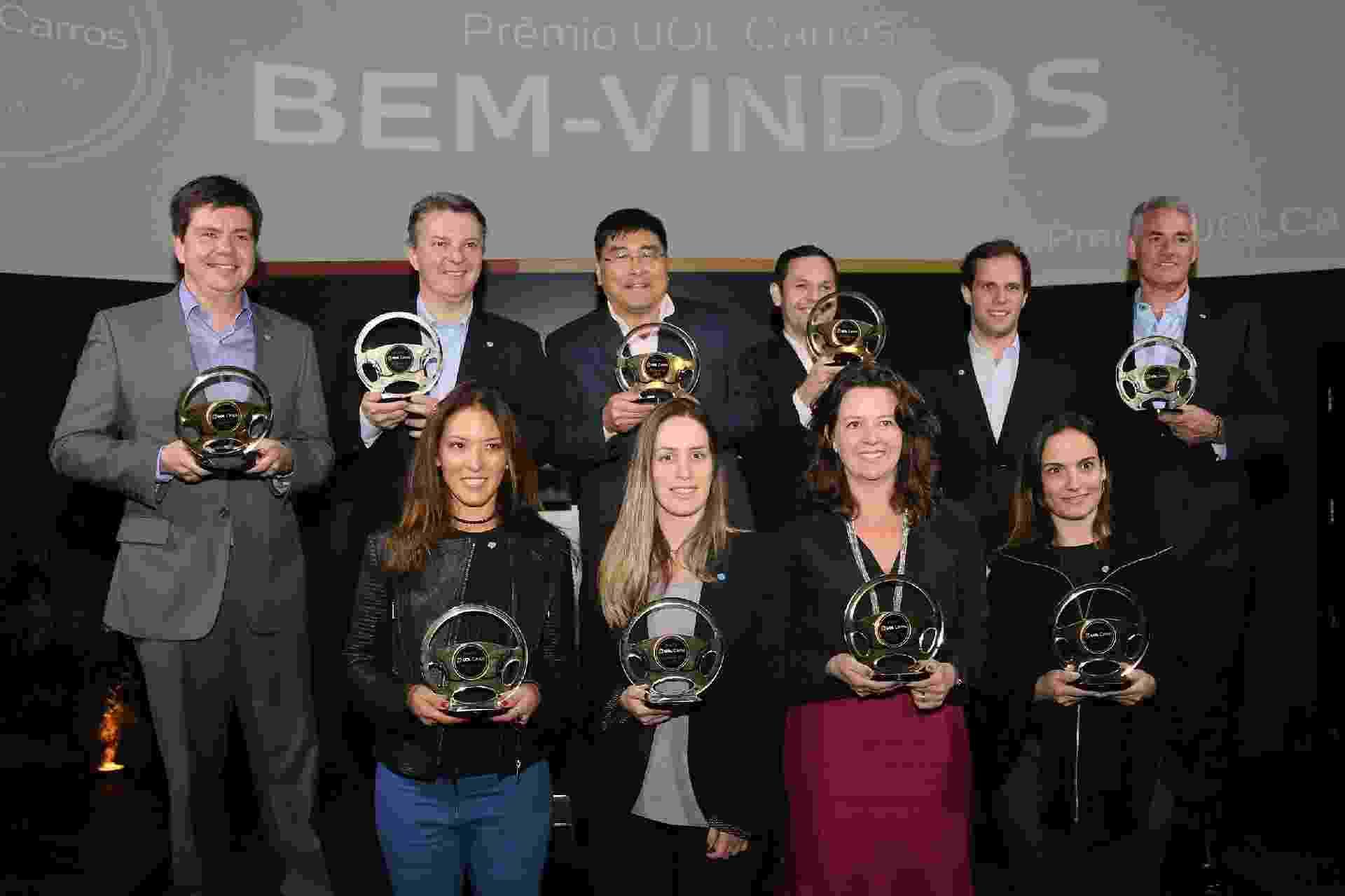 Vencedores Prêmio UOL Carros 2018 palco - Leonardo Gepp/UOL Carros