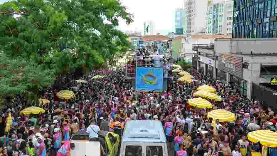 Desfile do bloco Casa Comigo, em São Paulo - Marcelo Justo/UOL