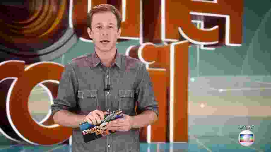 Leifert anuncia novidades no paredão desta semana - Reprodução/TvGlobo