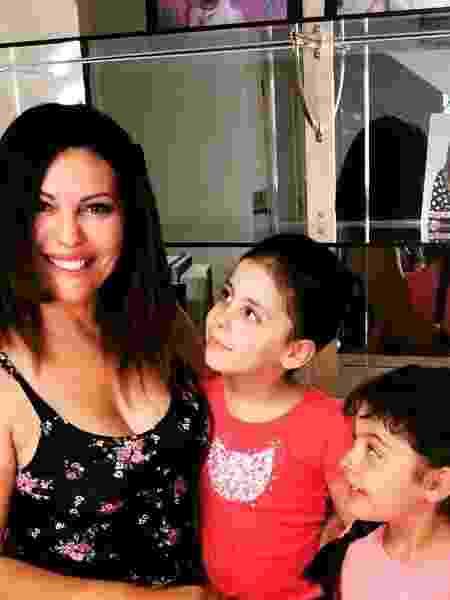 Márcia Goldschmidt e as filhas - reprodução/Instagram