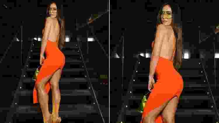 Sabrina Sato usa vestido com fenda poderosa de quase R$ 3.000 - Reprodução/Instagram