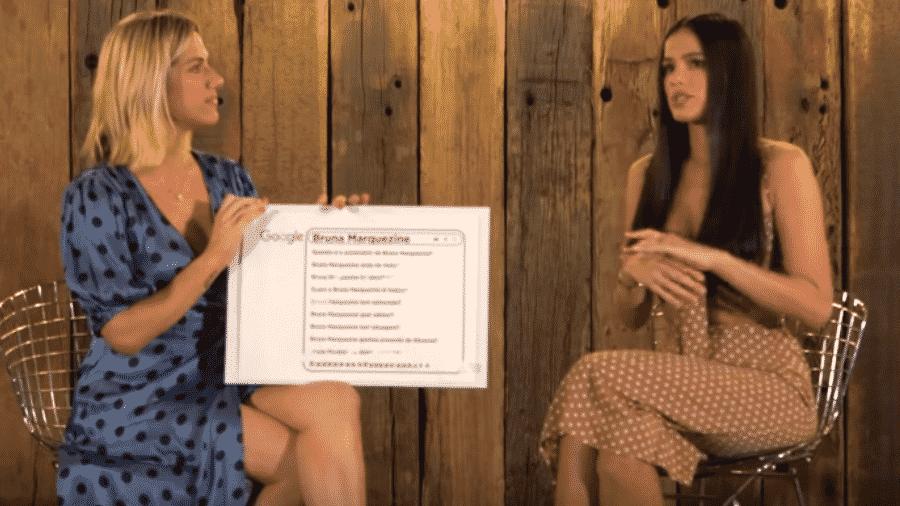 Giovanna Ewbank entrevista Bruna Marquezine - Reprodução/Instagram