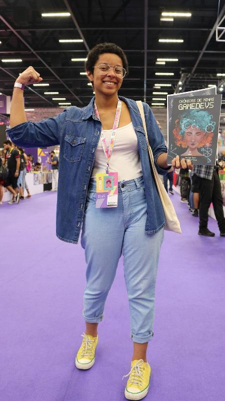 Raquel Motta é desenvolvedora de jogos, programadora e fundadora da Sue the Real, estúdio focado em narrativas afro-brasileiras - Giovanna Breve/UOL