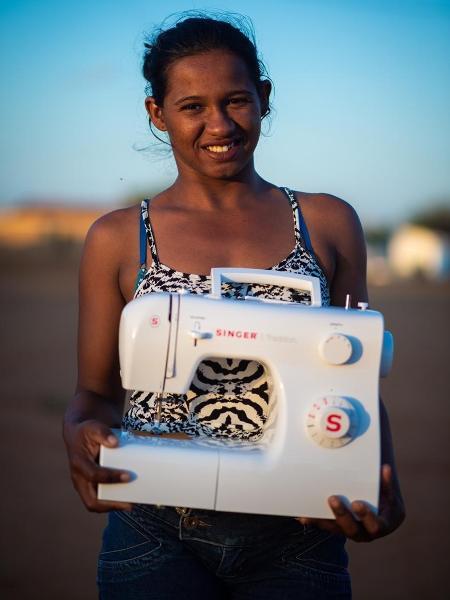 Eva de Jesus é participante do projeto Ateliê Forte das Severinas - Divulgação/Projeto Canudos