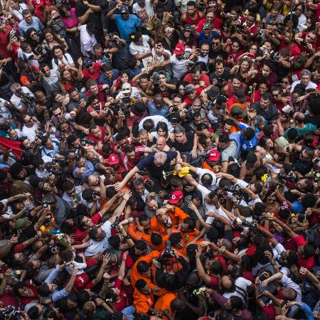 """Prisão de Lula foi retratada em """"Democracia em Vertigem"""" - Francisco Van Steen Proner Ramos/Netflix"""