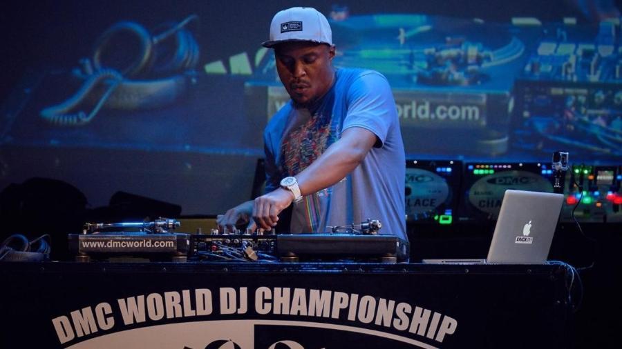 DJ Erick Jay durante a DMC World - DMC World/Divulgação