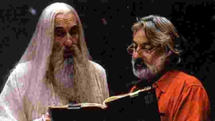 Andrew Jack também ajudou a treinar atores no filme Senhor dos Anéis - Reprodução - Reprodução