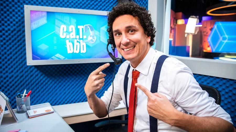 """Rafael Portugal fez o quadro """"CAT BBB"""" na última edição - Victor Pollak/TV Globo"""