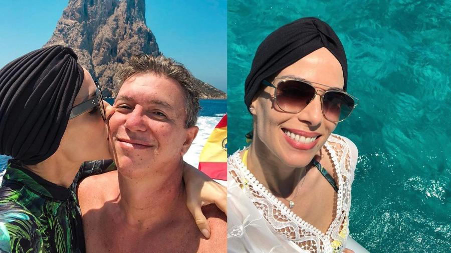 Ana Furtado compartilha registros de viagem com Boninho - Reprodução/Instagram