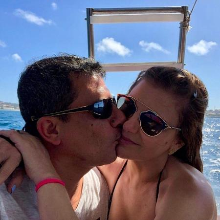 Tom Veiga e Alessandra foram casados por quase 15 anos - Reprodução/Instagram