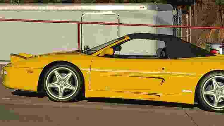 Anderson Dick Ferrari F355 Spider 1998 Pior Ferrari do Mundo - Arquivo pessoal - Arquivo pessoal