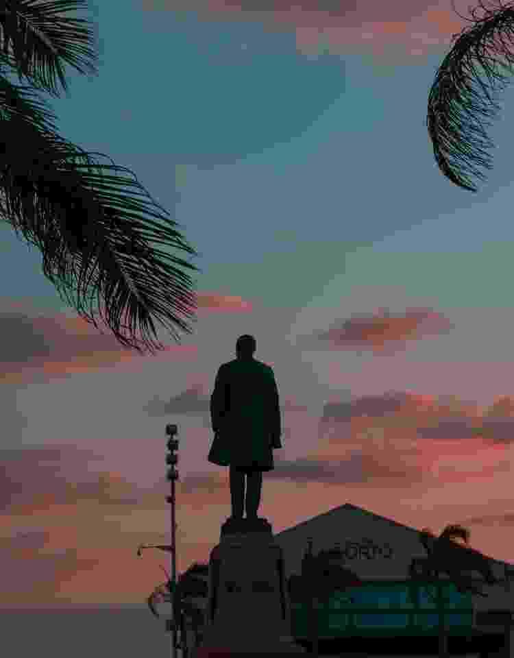Estátua do Barão de Rio Branco, em Recife, Pernambuco - Getty Images - Getty Images