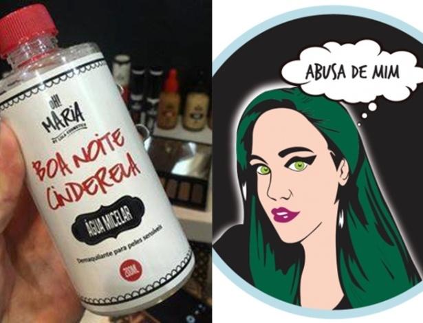 """""""Boa Noite Cinderela"""" e """"Abusa de Mim"""" da Lola Cosmetics - Reprodução Facebook"""
