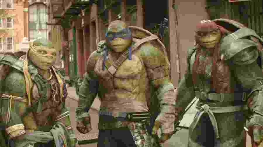 Cena do filme As Tartarugas Ninja: Fora das Sombras - Divulgação
