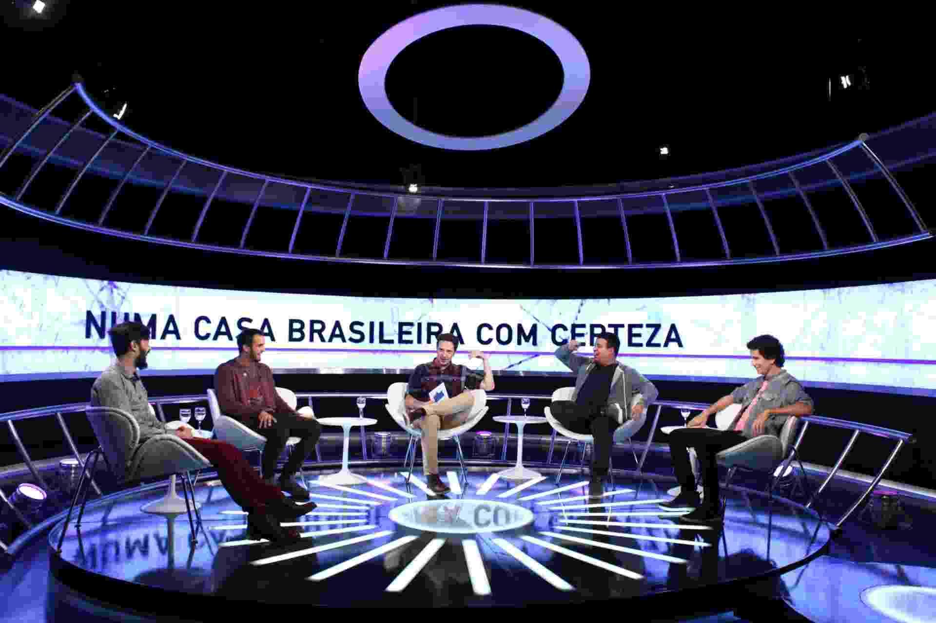 """30.jun.2016 - Humoristas fazem piada com diferenças regionais do Brasil em """"A Culpa é do Cabral"""" - Divulgação/Comedy Central"""