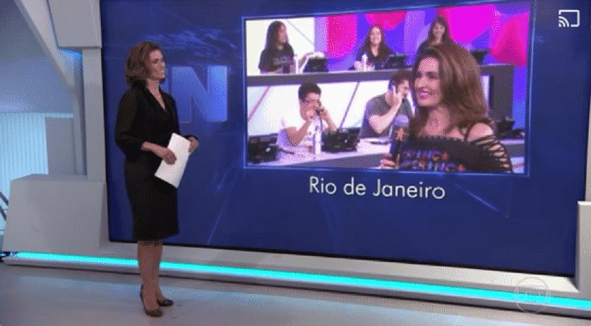 2.jul.2016 - Fátima Bernardes - Reprodução/TV Globo