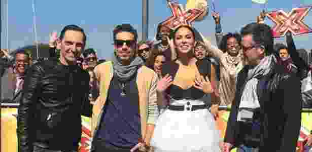Sucesso do X-Factor passa a depender também do bom desempenho dos seus jurados - Reprodução/Instagram/alinne_rosa