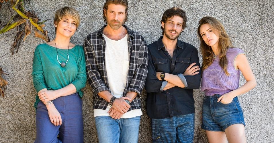 a lei do amor - Claudia Abreu, Reynaldo Gianecchini, Isabelle Drummond e Chay Suede