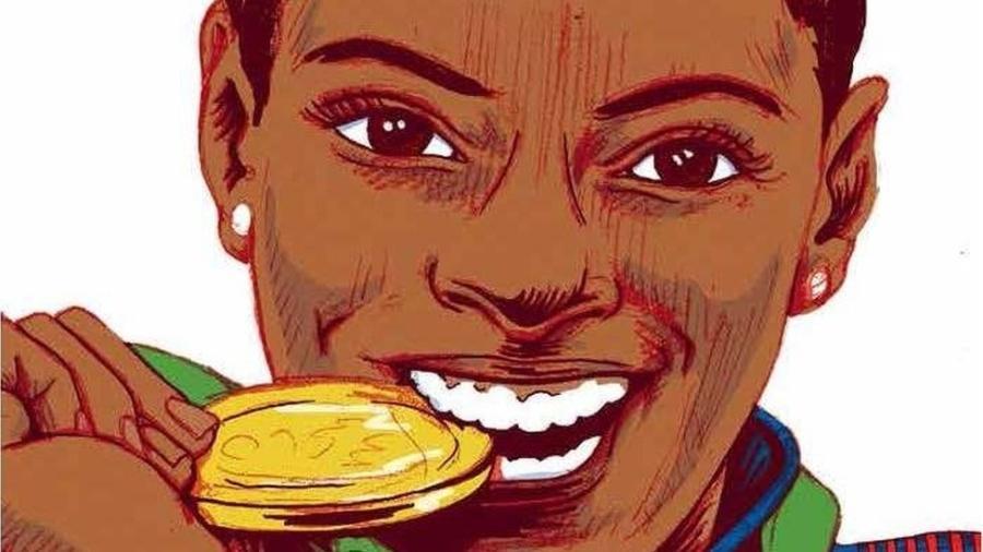Simone Biles, ginasta americana de 19 anos que impressionou o público nas Olimpíadas de 2016 - Elina Van Dam