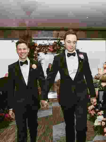 Jim Parsons e Todd Spiewak se casaram nos EUA - Reprodução/Instagram/therealjimparsons