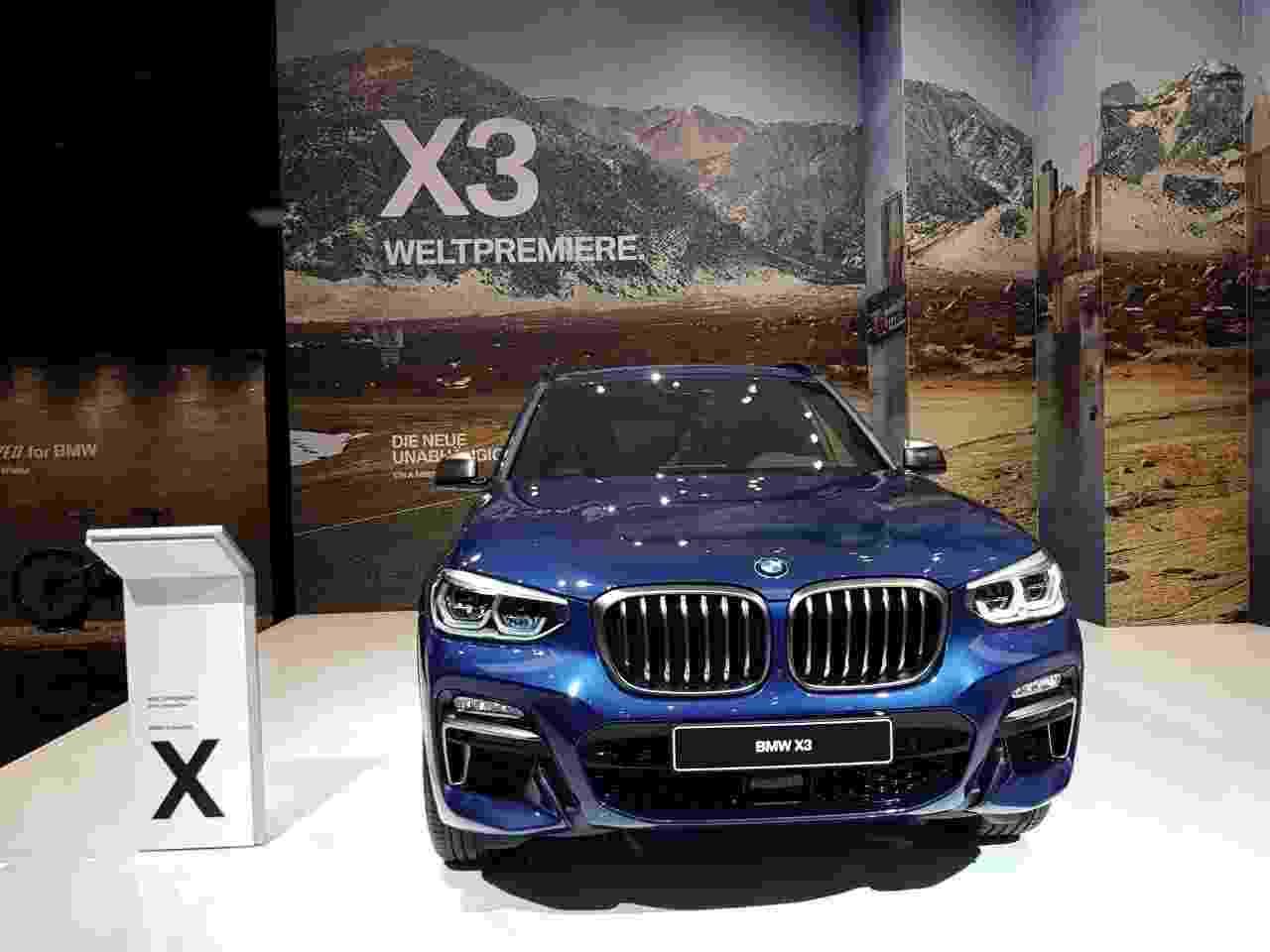 BMW X3 2018 - André Deliberato/UOL