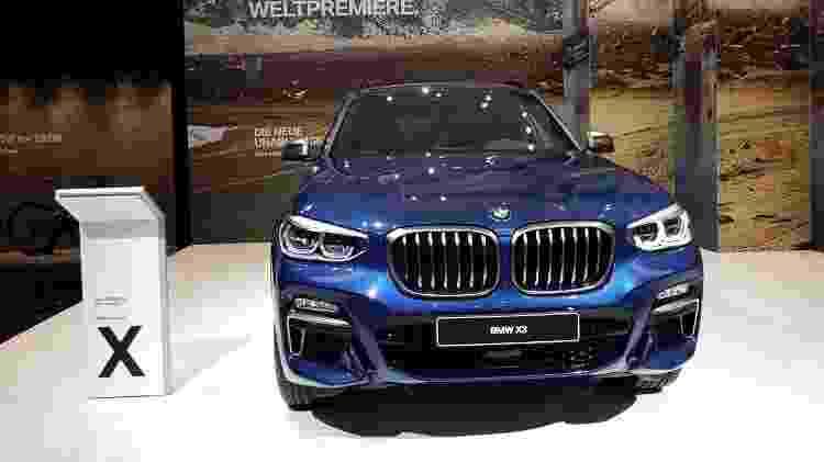 BMW X3 2018 - André Deliberato/UOL - André Deliberato/UOL