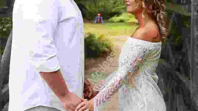 Fotos de casamento com Pennywise - Reprodução/Twitter - Reprodução/Twitter
