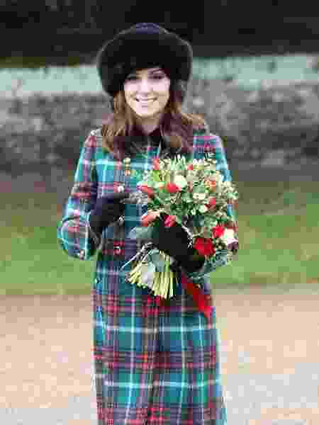 A duquesa Kate Middleton já aderiu ao xadrez - Getty Images