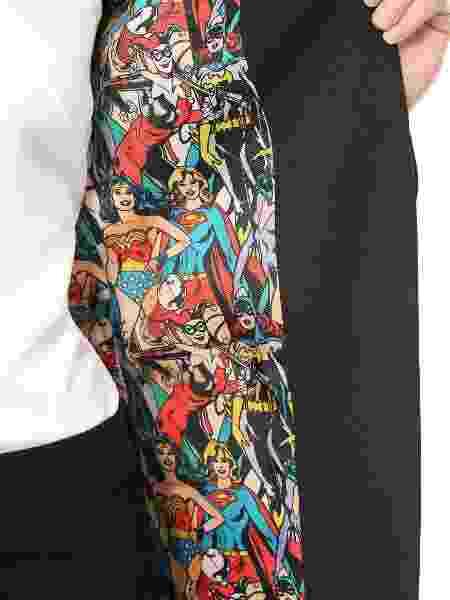 Interior do blazer da DC Comics - Divulgação - Divulgação