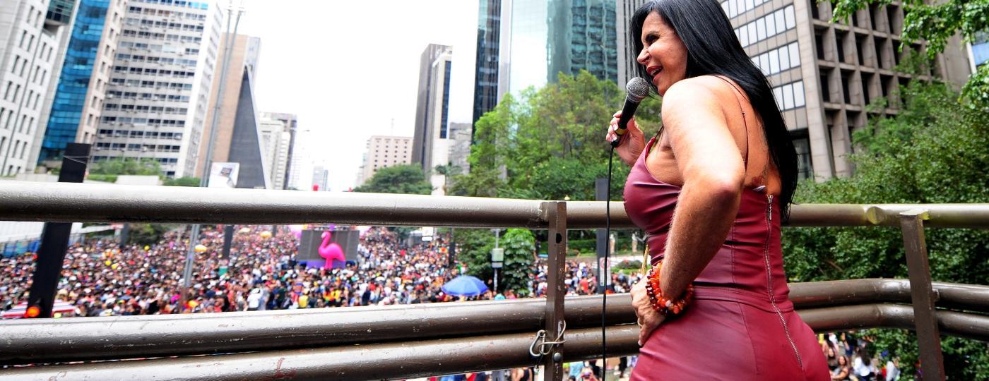 Gretchen diz querer transmitir aos pais de pessoas LGBTI+ uma mensagem de amor e aceitação - Junior Lago/UOL