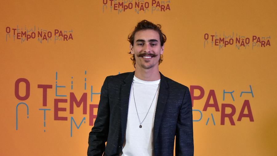 """Bruno vai interpretar um poeta na próxima novela das 19h. """"Vai ser um baque pra ele acordar 132 anos após o congelamento"""" - Divulgação/TV Globo/Cesar Alves"""