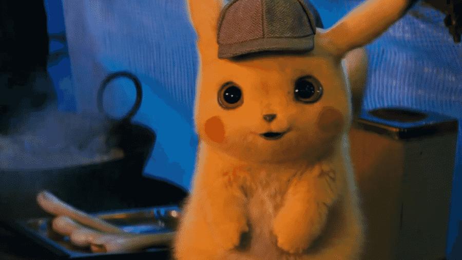 """Cena de """"Detetive Pikachu"""" - Reprodução/Youtube"""