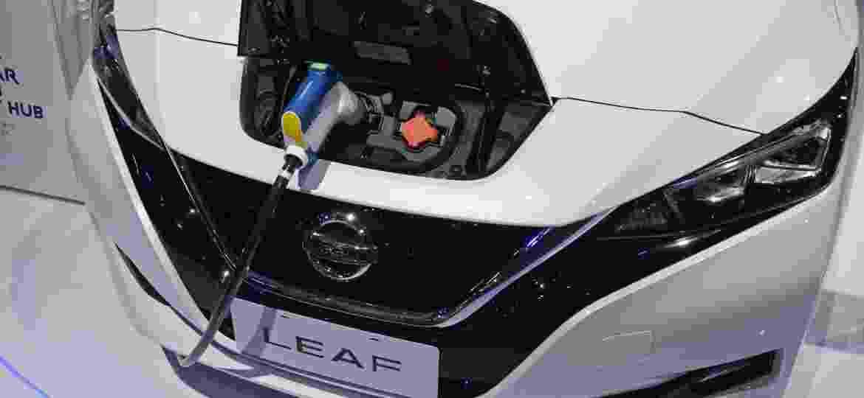 Nissan Leaf é um dos best sellers globais e, agora, umas das opções de elétrico no Brasil - Murilo Góes/UOL