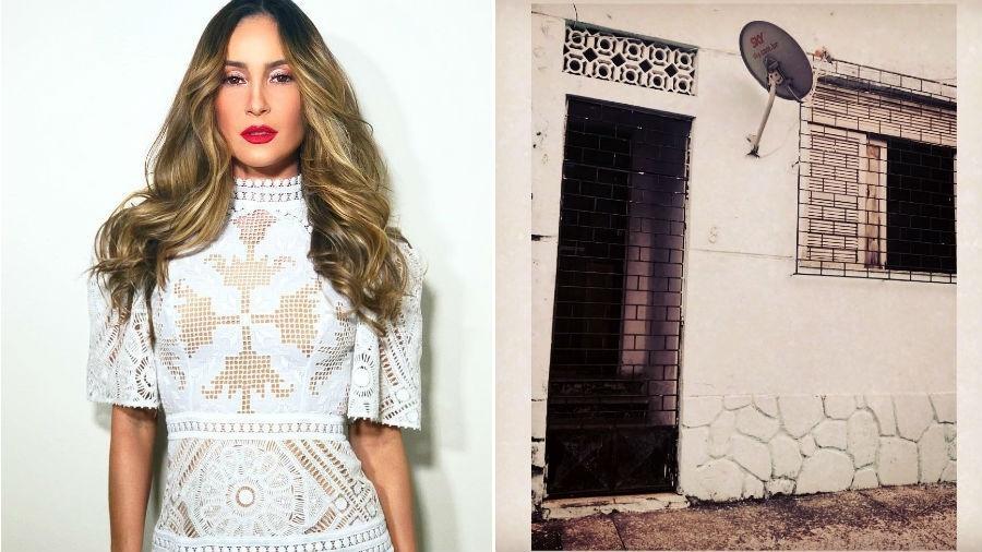 Claudia Leitte e a casa em que morou em Salvador antes da fama - Reprodução/Instagram