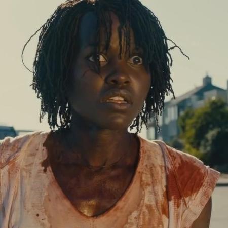 """Lupita Nyong""""o em cena de """"Nós"""" - Reprodução"""