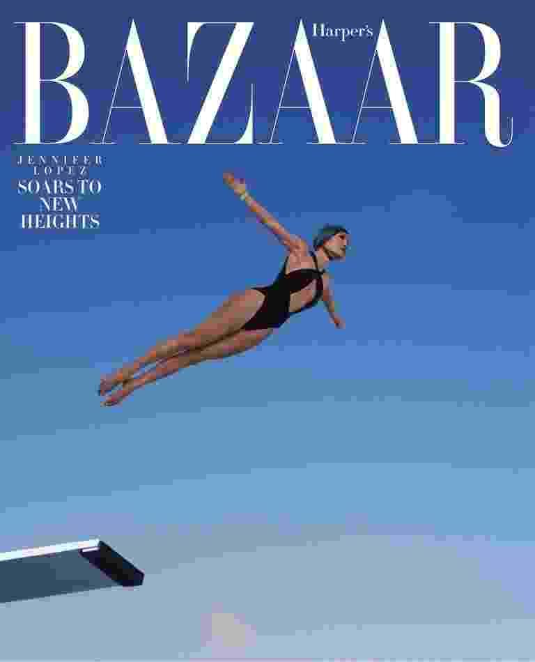 Jennifer Lopez posa esportiva para a Harper's Bazaar norte-americana - Reprodução/Harper's Bazaar