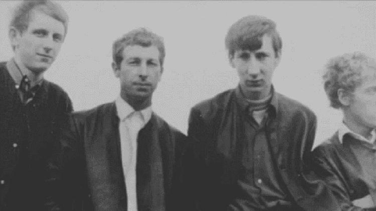 The Who com Doug Sandom (segundo da esquerda para a direita) - Reprodução - Reprodução