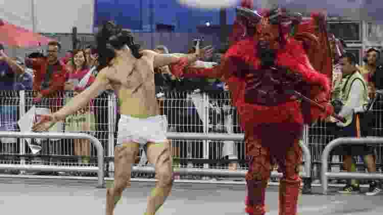Gaviões Jesus e o Diabo - ALICE VERGUEIRO/ESTADÃO CONTEÚDO - ALICE VERGUEIRO/ESTADÃO CONTEÚDO