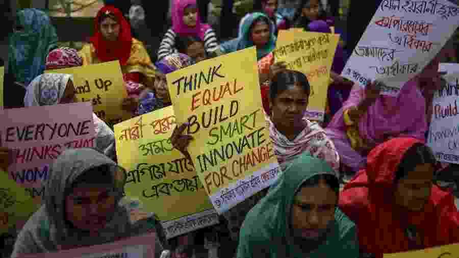 Dia das Mulheres - Bangladesh - AFP