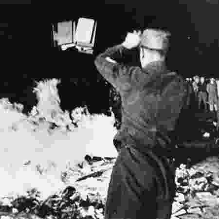 Hirschfeld instituto incendiado - Divulgação - Divulgação