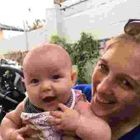 Milli Richards com a caçula, Winnie  - Reprodução/Facebook