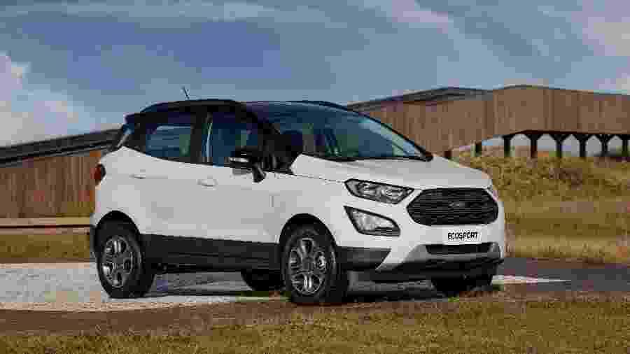 O Ford EcoSport, além do Ka, estão envolvidos no novo recall - Divulgação