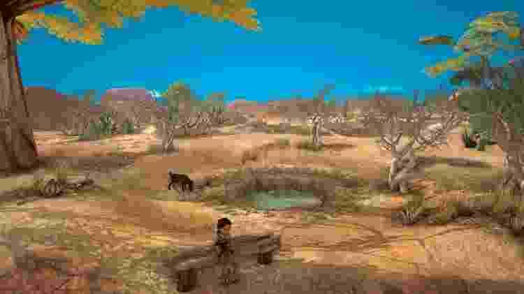 O céu é elemento de impacto para o visual do jogo - Divulgação